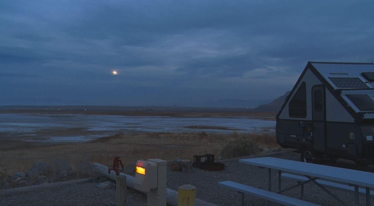 Great Salt Lake Marina Camping