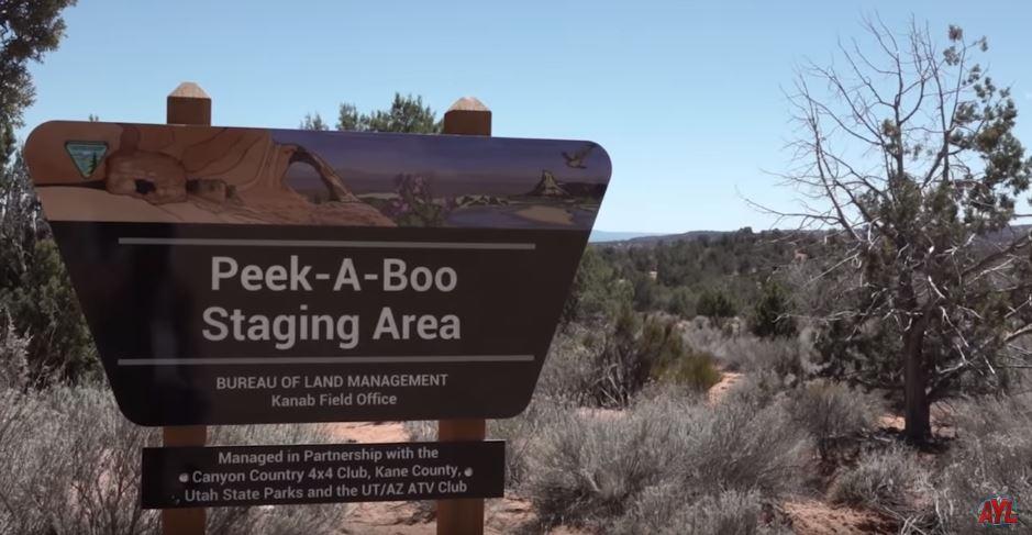 Peek-A-Boo Canyon – Arch Canyon Jeeping