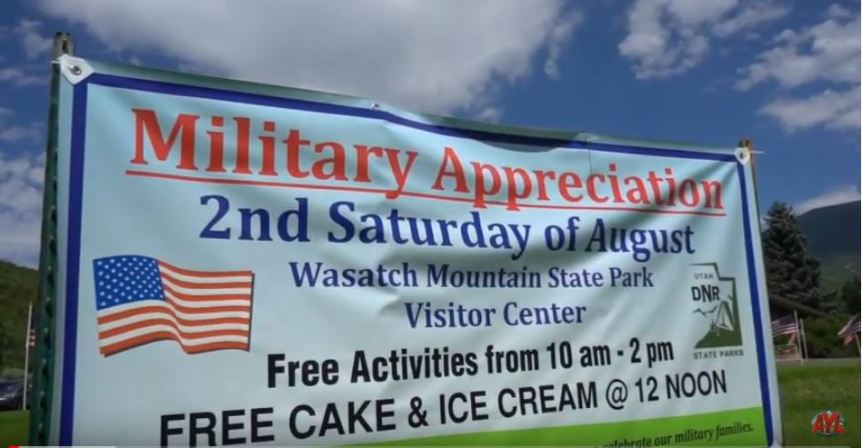 Wasatch Mountain State Park Military Appreciation Day