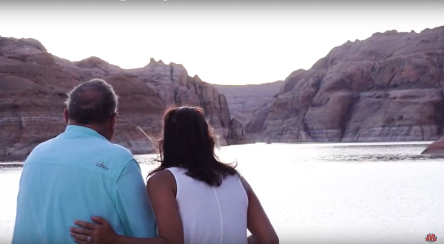 Lake Powell with Eagles Landing
