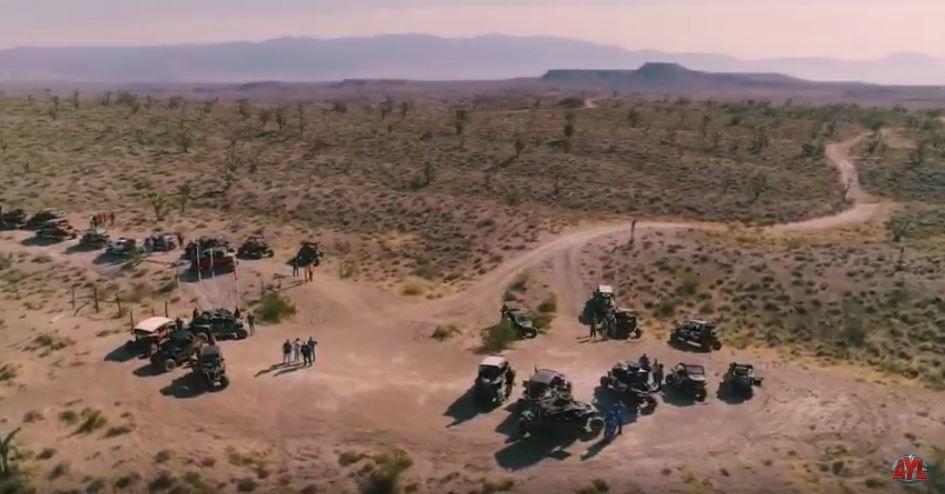 Polaris Can-am World Kick Off Ride