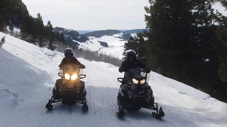 Bear Lake Snowmobiling