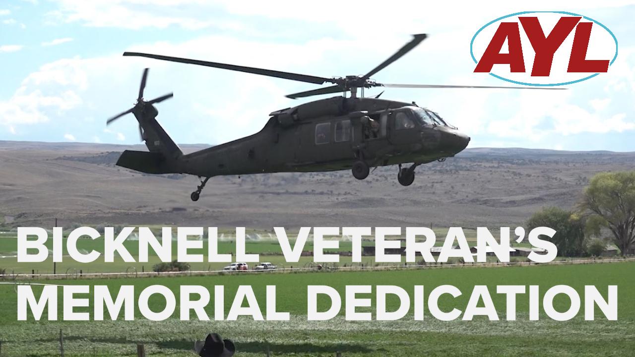 Bicknell Veteran's Memorial Dedication Host Adventure