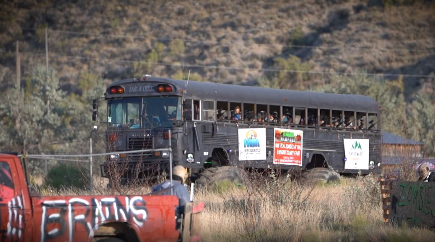 Zombie Rampage Bus