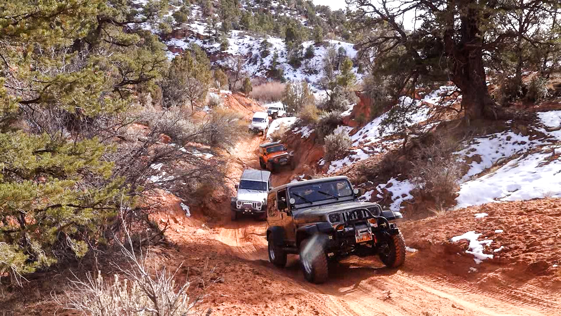 Seaman Wash with Canyon Country 4×4 Club Full Episode