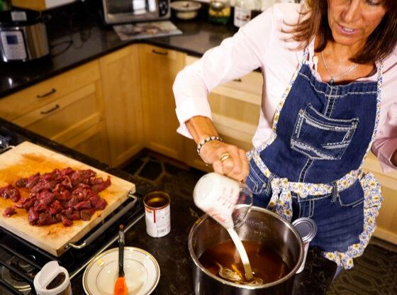 Yardley Burgundy Beef Tips