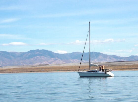 Sailing Great Salt Lake