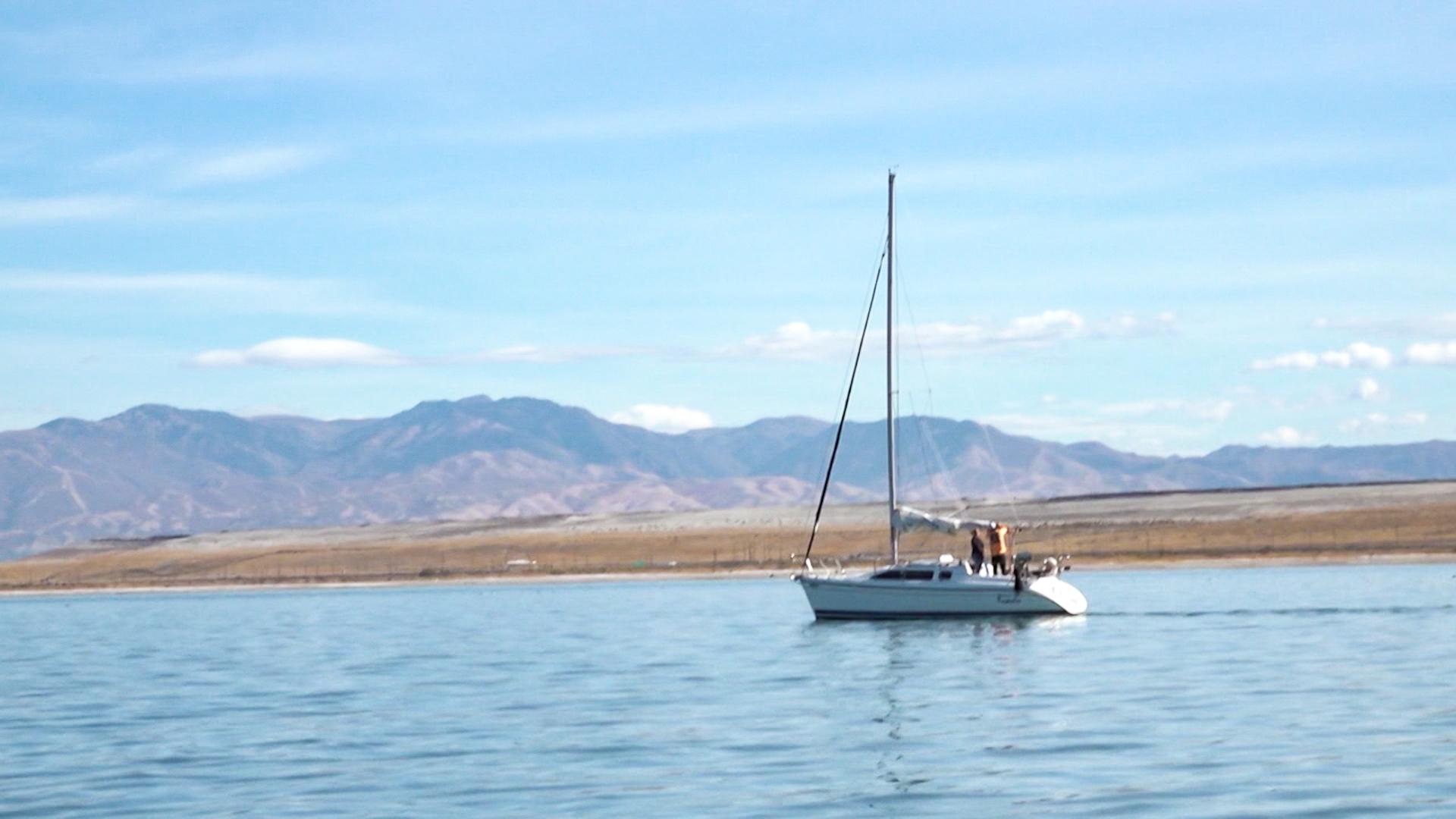 Sailing Great Salt Lake