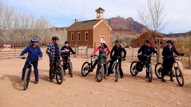 Yamaha Ebikes with Steadmans Recreation